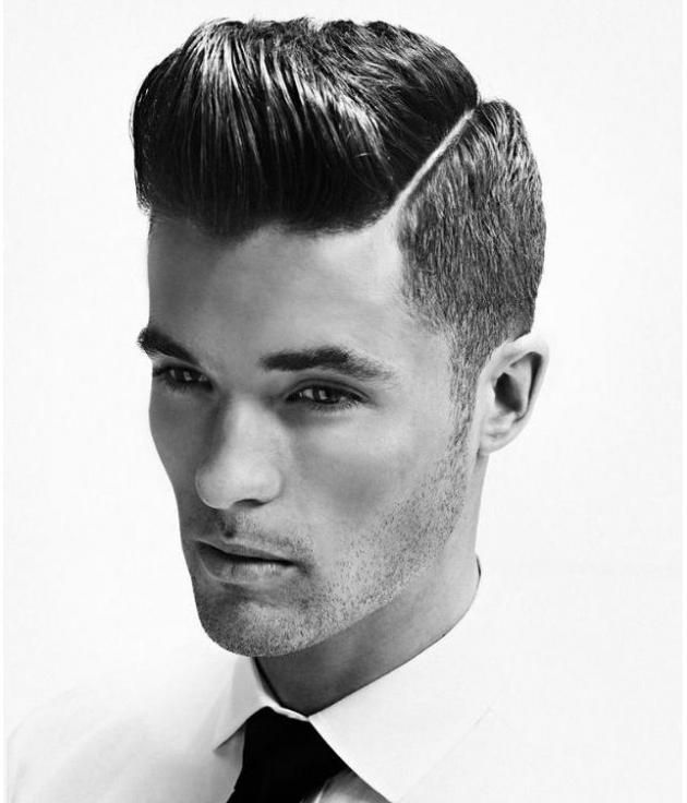 Retro Hairstyles For The Modern Man Hard Part Haircut Mens Hairstyles 2014 Mens Hairstyles