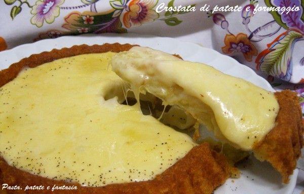 crostata patate e formaggio