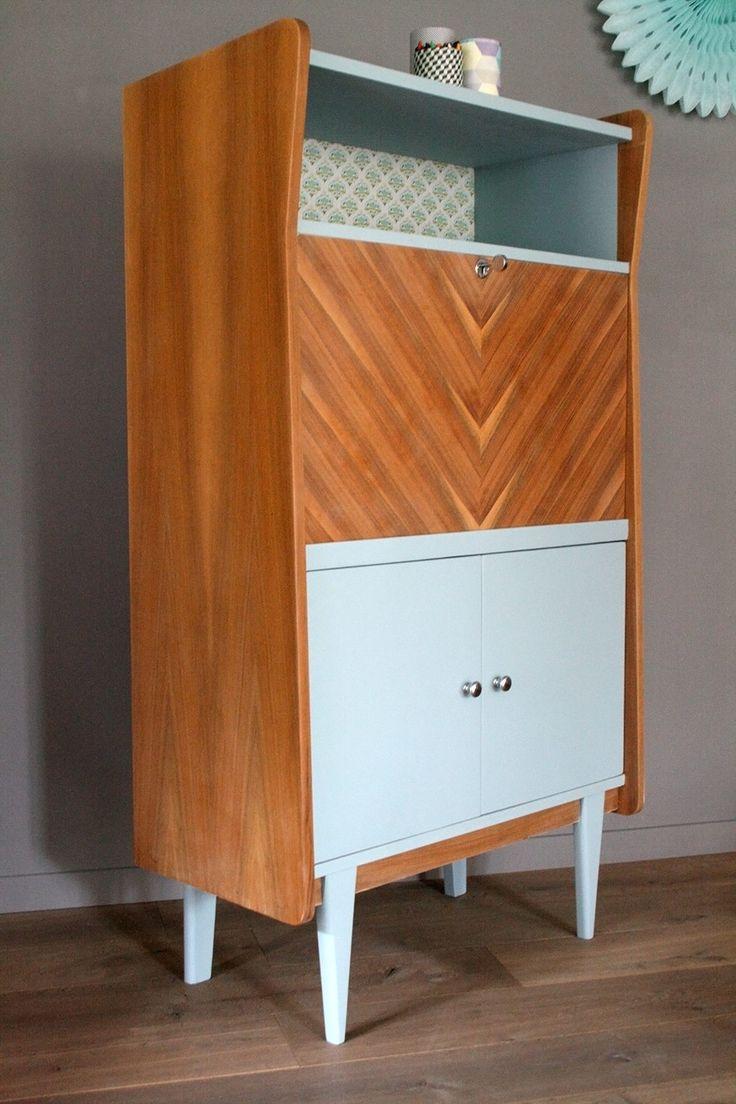 les 25 meilleures id es de la cat gorie secretaire vintage sur pinterest secr taire. Black Bedroom Furniture Sets. Home Design Ideas