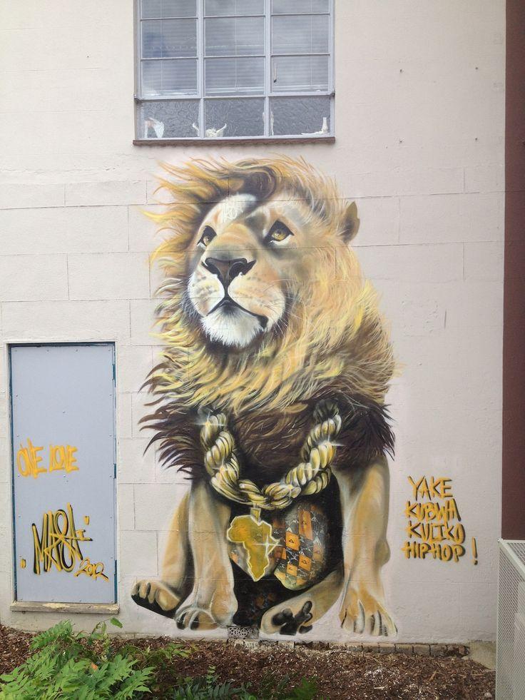 Street Art by Louis Masai in Bristol, UK