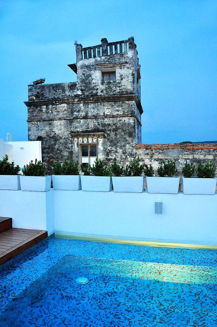 #VogueTravel Tcherassi Hotel + Spa, de la diseñadora colombiana Silvia Tcherassi, un secreto de lujo en la ciudad amurallada. http://www.vogue.mx/articulos/especial-viajes-vogue-travel-el-nuevo-tcherassi-hotel-and-spa/2672#