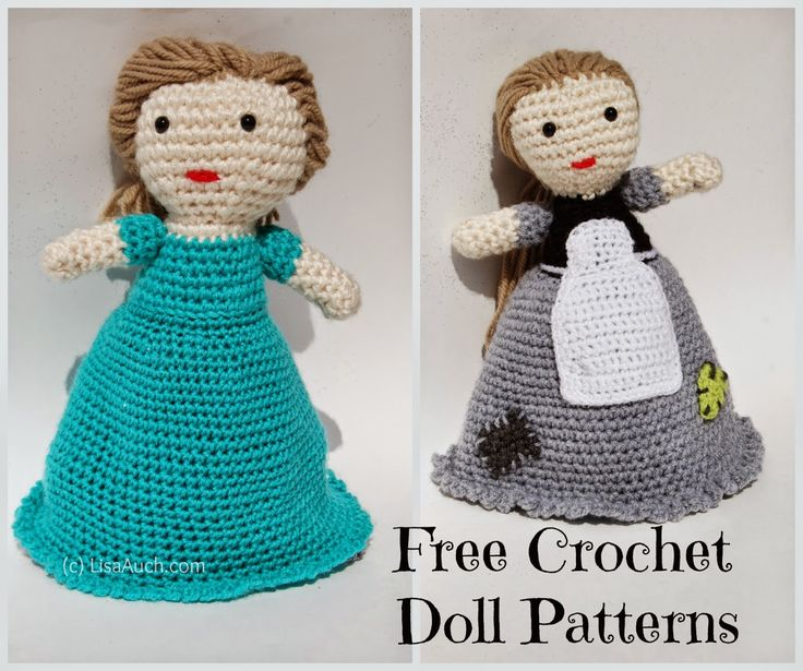 Basic Crochet Doll Pattern Free : 1000+ ideas about Handmade Dolls Patterns on Pinterest ...