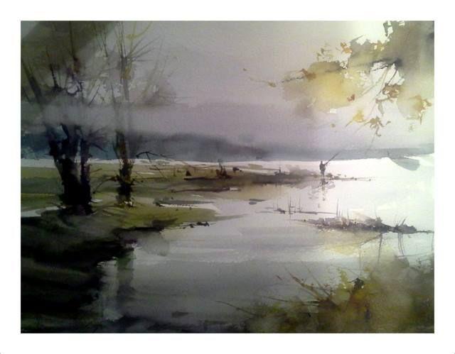 Orhan Gurel #watercolor jd