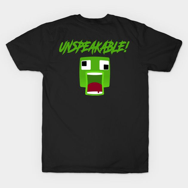Fan Unspeakable T Shirt For Youth And Kids Fan Unspeakable T Shirt Teepublic T Shirt Youtuber Merch Cool Shirts
