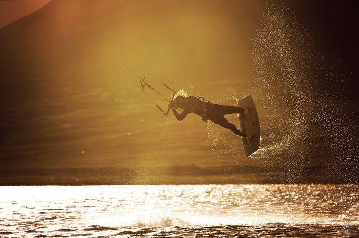kite (Michael Karmazin)  kitesurfing, extreme