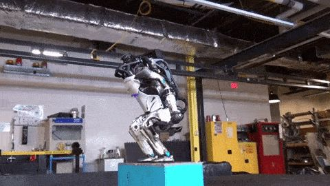 Watch Boston Dynamics' Atlas robot nail a backflip Weve grown accustomed to seeing Boston Dynamics impressive line-up of robots strutting about in periodic video updates each more terrifying than the last. But every once in a while the company unleashes a clip so awesome you cant help but watch. And so it is with its latest vid starring the humanoid machine known as Atlas. You know the poor bot thats been toiling away for years in between tethered walks and prods from its human trainers. The…
