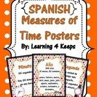 Great to include in your Dual Immersion program or bilingual classroom, this download is for the Spanish version of my eight measurement of time po...