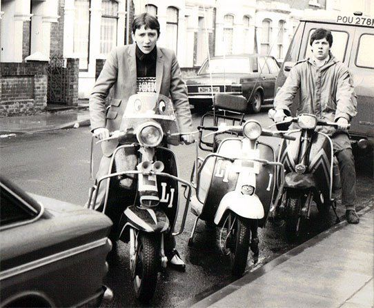 British Mod Revival (which time?) and Lambretta scooters- late 70s,early 80s
