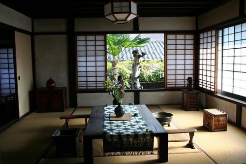 A traditional Japanese home