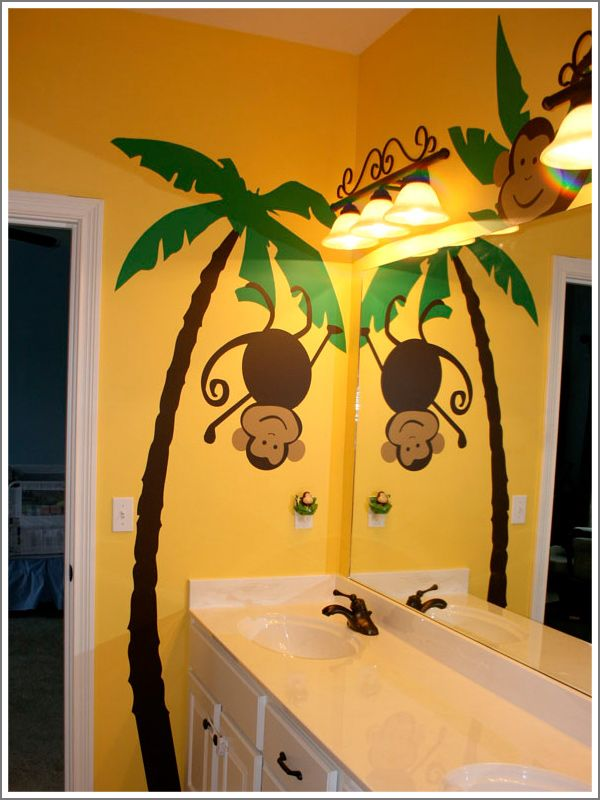 monkey bathrooms bing images - Monkey Bedroom Decor