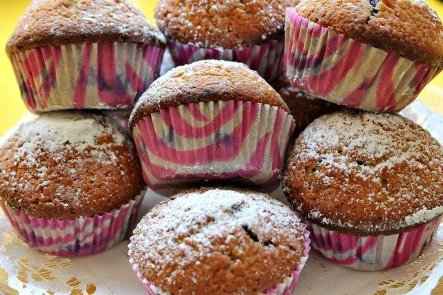 Helpot mustikkamuffinit - Kotikokki.net - reseptit