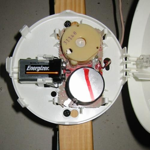 water alarm for err 250 i have like 3 of these smoke alarms in the