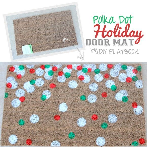 Back by popular demand…a door mat tutorial that will dress up your porch just in time for Santa's arrival. Because our fall herringbone door mat tutorial was such a hit, we had to try our hand at a holiday DIY doormat. As far as we're concerned, once Santa lays his eyes on this beauty, he'll… Read More »