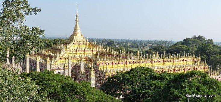 Thanboddhay Pagoda, Monywa, near MDL