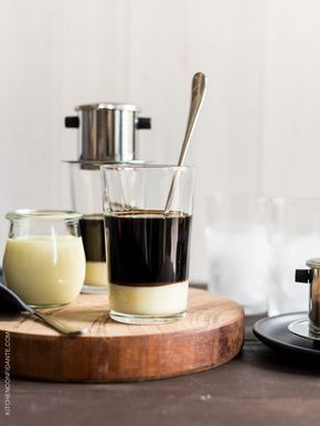 Treat yourself with this easy Vietnamese Iced Coffee (Ca Phe Sua Da) recipe made with a traditional phin filter.