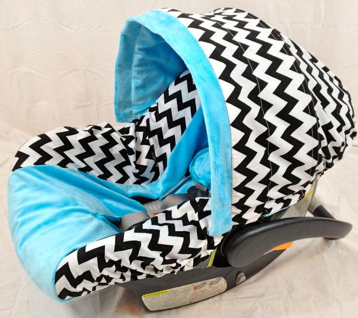 Chevron Infant Seat Cover Baby Car Seat Cover With Matching Neck Strap Set Infant Seat Baby