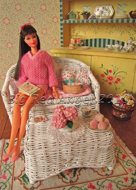 Barbie kleid hkeln Etsy