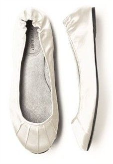 Ivory Bridal Bridal Flats - Perfect for Bridesmaids - Available in Over 20 Colors! - Bridal Ballet Flats and Slippers - Wedding Ballet Flats