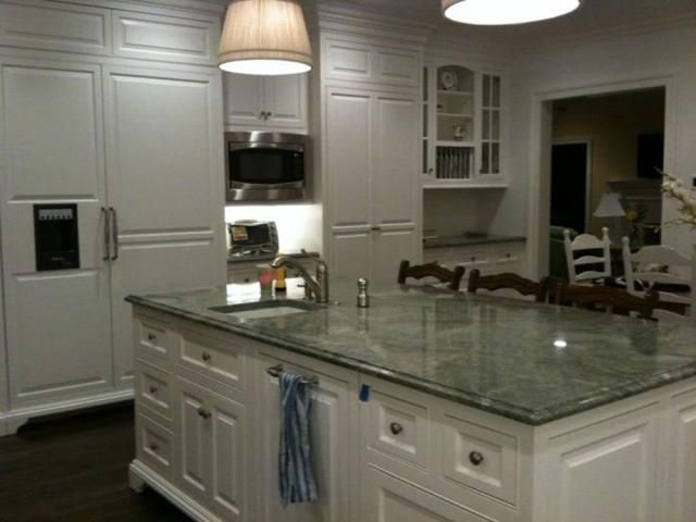 amazing green yellow kitchen | 23 Amazing Green Kitchen Marble Countertops Ideas | Green ...