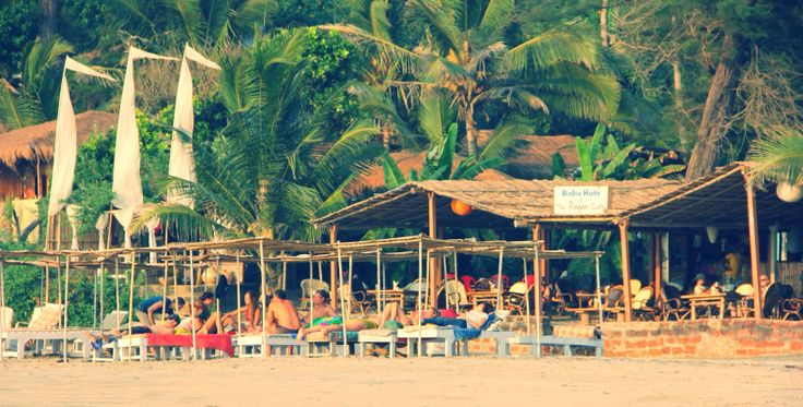 The Pagan Café, Ashvem Beach, North Goa