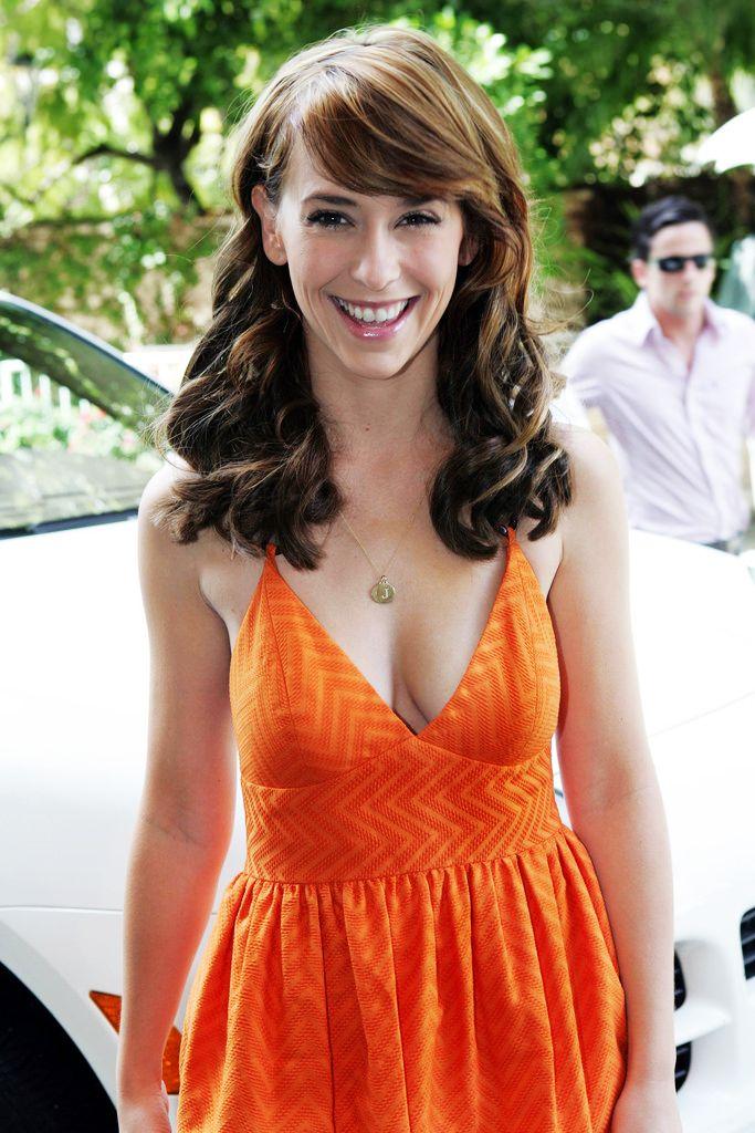 Jennifer Love Hewitt In A Orange Dress Jennifer Love Jennifer Love Hewitt Jennifer Love Hewit