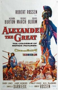 An epic film that follows the life of Alexander the Great, the macedonian king that united all ancient greek tribes and led them against the vast Persian Empire... See full summary»    Director: Robert Rossen  Writer: Robert Rossen  Stars: Richard Burton, Fredric March and Claire Bloom