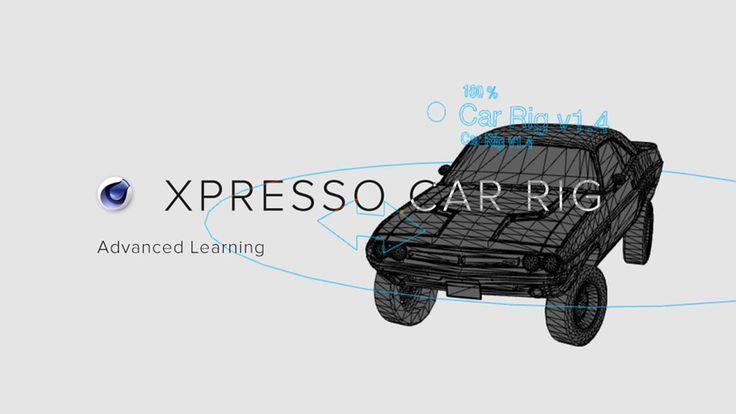 C4R 4D - Car Animation Rig
