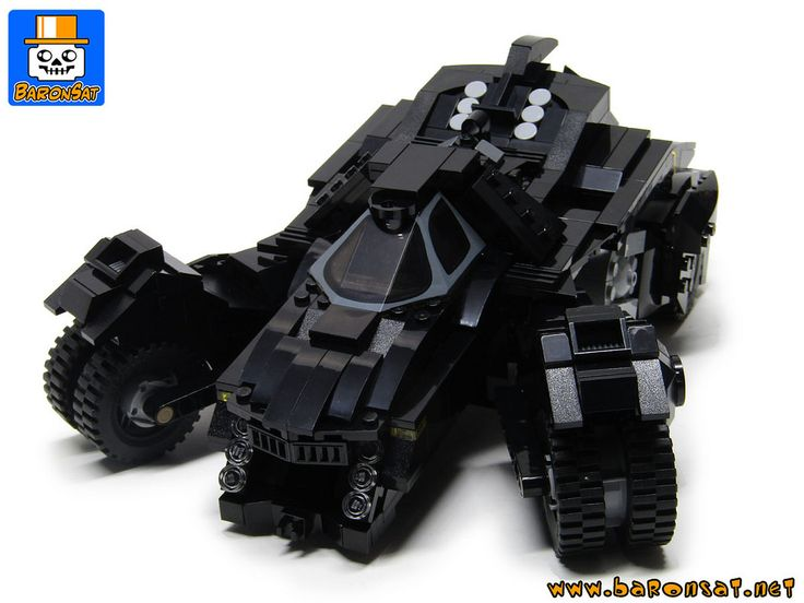 https://flic.kr/p/JEd45D | BATMOBILE ARKHAM KNIGHT 09 | One more photo of my final version and a link to see an animated gif showing the cannon up and down. www.baronsat.net/Pages18/Batmobile-28/ROCKSTEADY-BATMOBIL...