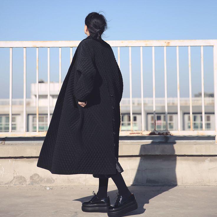 Купить товарWM001 элегантная Мода негабаритных черный длинный макси толстая тренчкот женщины 2016 в категории Тренчина AliExpress. WM001 элегантная Мода негабаритных черный длинный макси толстая тренчкот женщины 2016Информация О продукте:100% Brand N