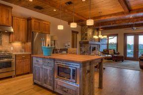 contemporary rustic kitchen