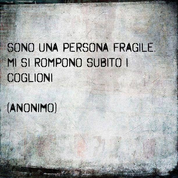 persona fragile