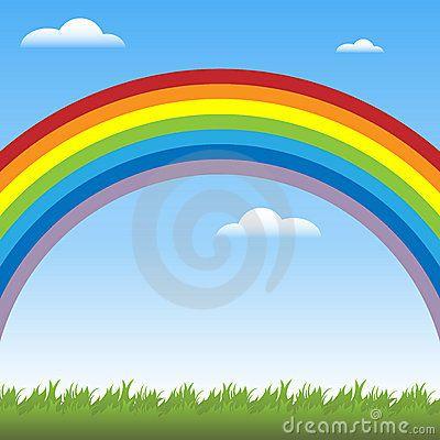 Rainbow Background By Ras 224 Messina Francesca Via