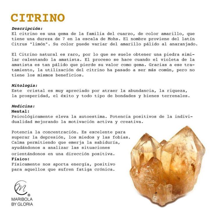 Aprendemos sobre el citrino. Copyright: maribolabygloria.com