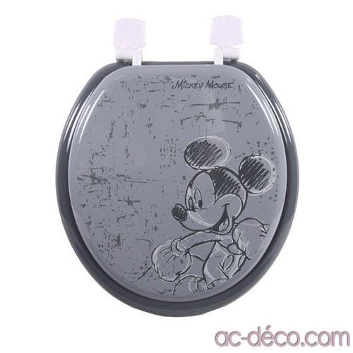 Abattant wc Disney Mickey  Décorez votre salle de bains avec le style Disney! L'abattant Mickey pour seulement 30,60 € chez www.ac-deco.com #Mickey #Disney #Decoration