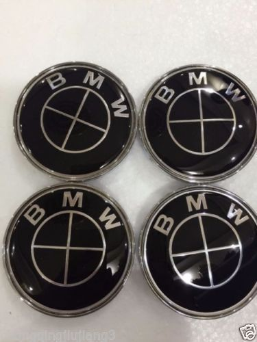 4f3da8f3cad 4x High quality Black center cap 68mm Logo rim cover hub caps Emblem ...