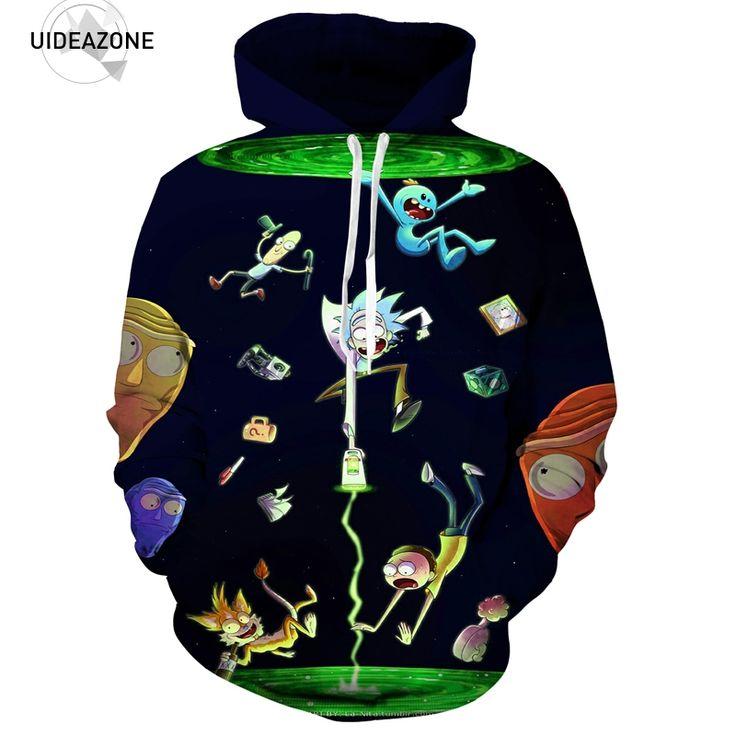 New Fashion Rick and Morty Men / Women 3D Sweatshirt //Price: $36.45 & FREE Shipping //     #3dwear