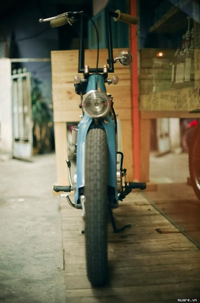 Bad ass Honda Cub. If there can be such a thing.