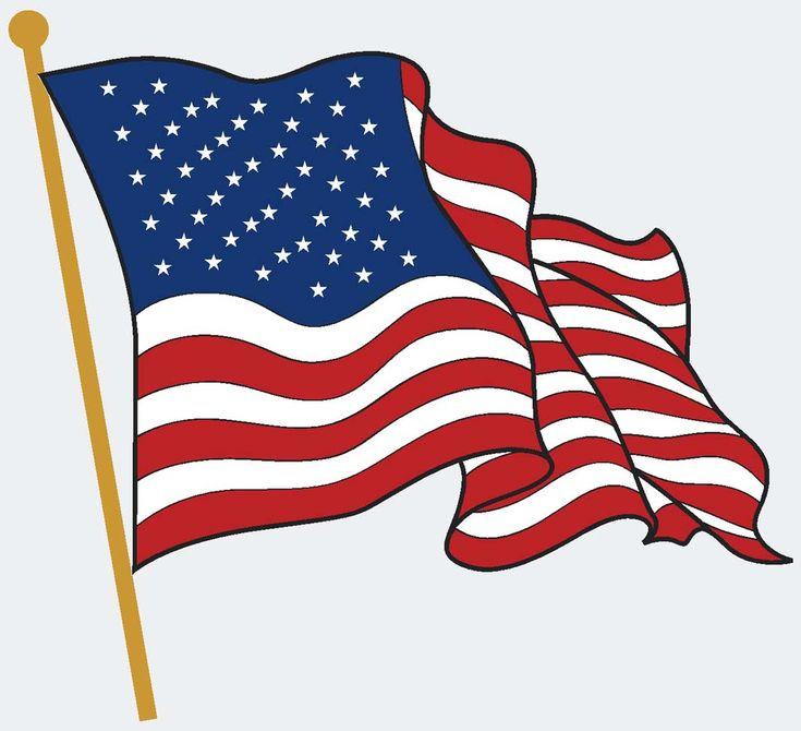 American Flag Vector   American flag art