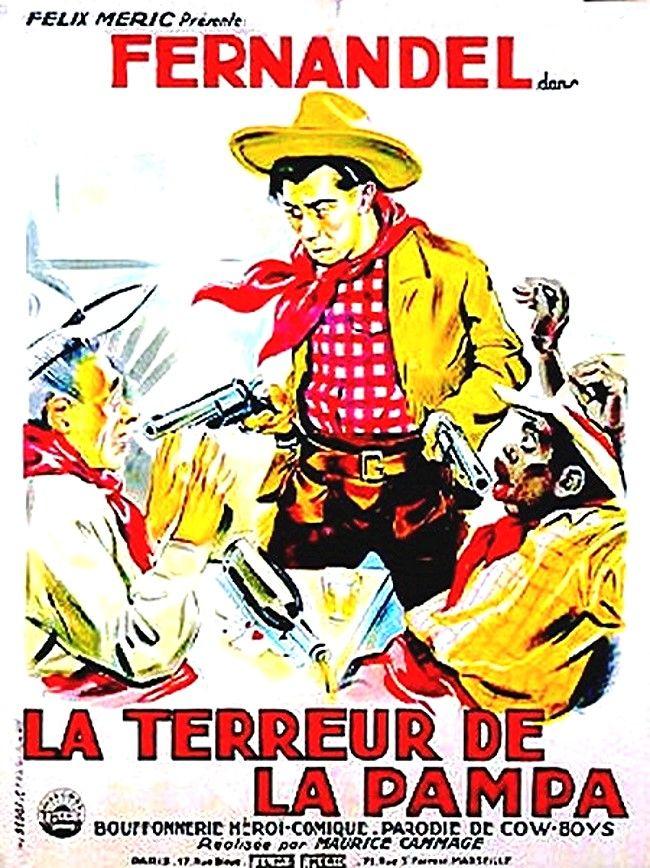 La Terreur De La Pampa Affiche Cinema Vieux Films Affiche Film