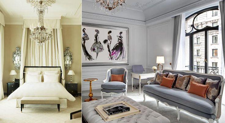 12 hotellrum inspirerade av modedesigners