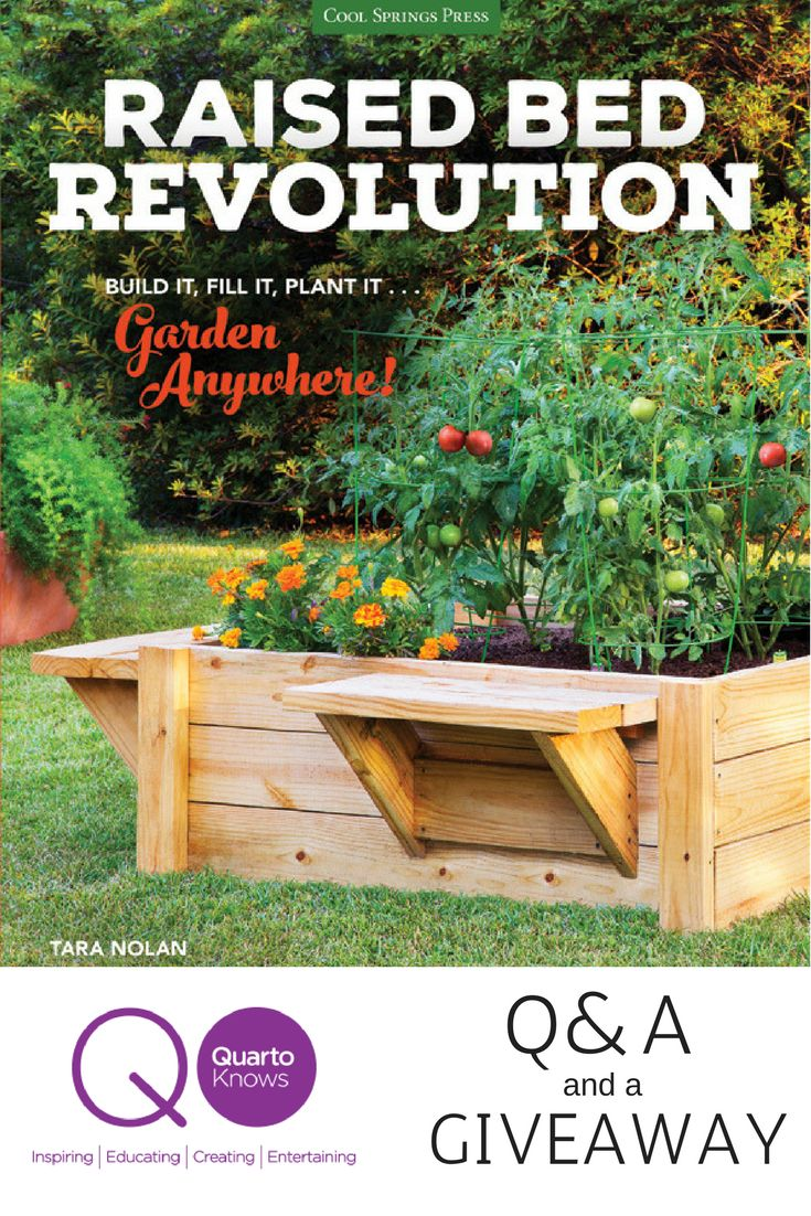 Q&A with Tara Nolan, Author of 'Raised Bed Revolution' | Growing gardens,  Raised bed and Fast growing