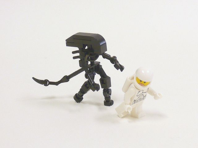 micro-ALIEN and Ripley by HP Mohnroth, via Flickr