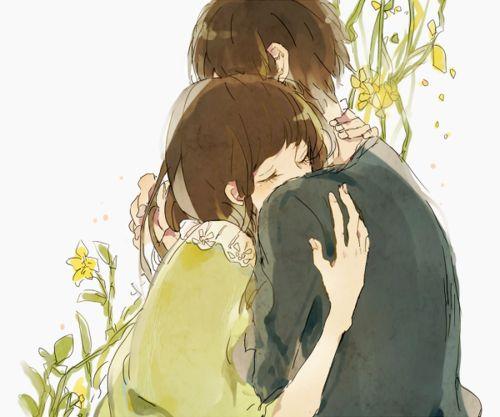 Best 25 anime couples hugging ideas on pinterest cute - Anime hug pics ...