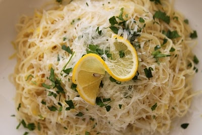Lemon Capellini Pasta