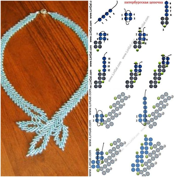 * Necklace from Anna  #Seed #Bead #Tutorials