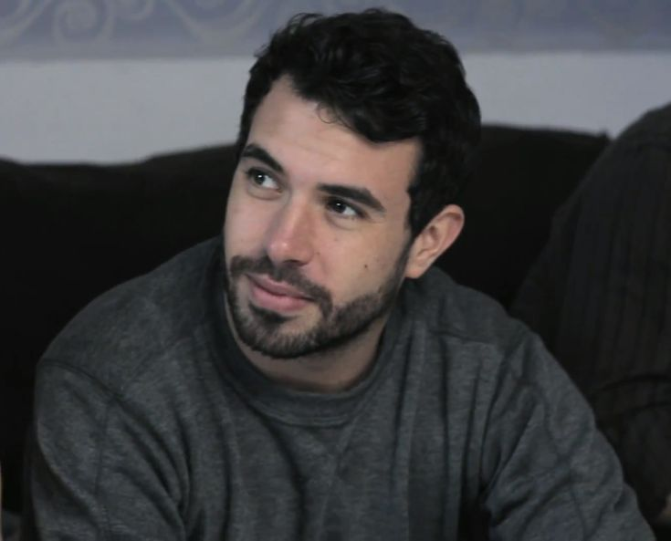 Tom Cullen - screencap from the film Weekend (2011)