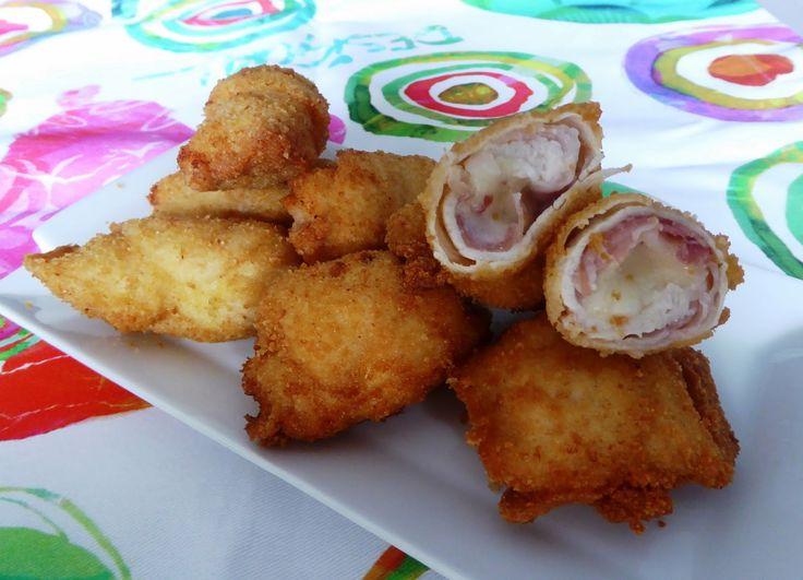 Involtini di pollo fritti fantasia Per la ricetta:http://www.frittomistoblog.it/2014/11/involtini-di-pollo-fritti-fantasia.html