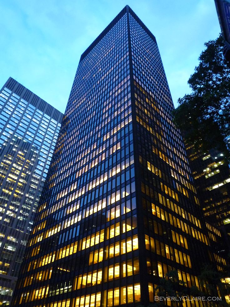 Building A Basic Wardrobe V5 0 Malefashionadvice: The Seagram Building, New York - Google Search