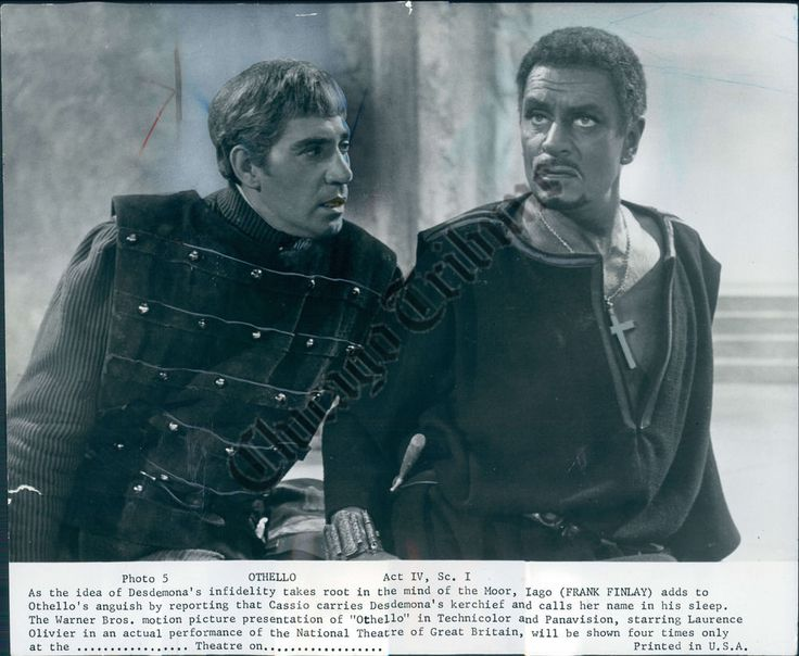 CT PHOTO agr-609 Laurence Olivier Frank Finlay