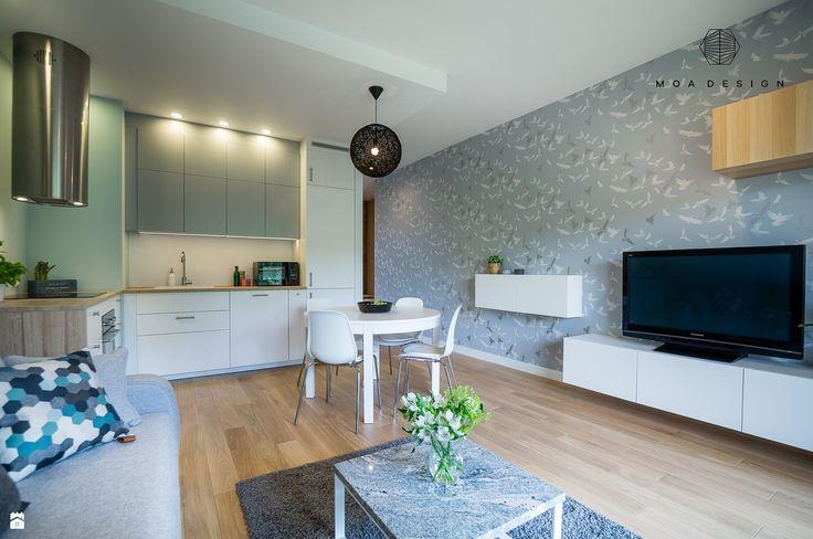 Wystrój wnętrz - Salon - styl Skandynawski. Projekty i aranżacje najlepszych…